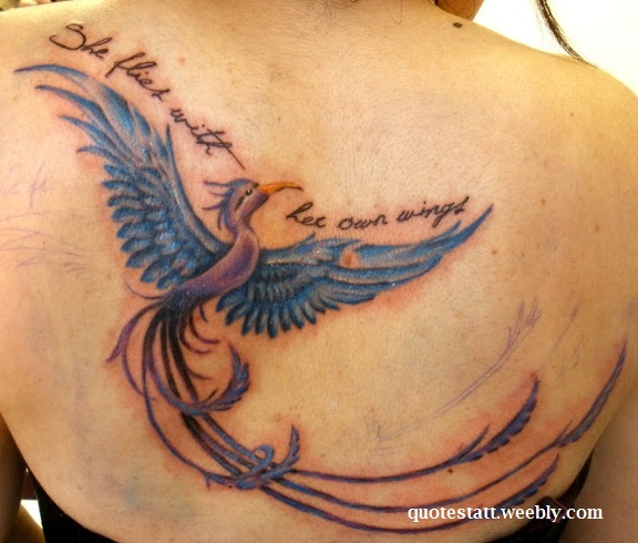 Quotes for Phoenix Bird Tattoo - Quotestatt